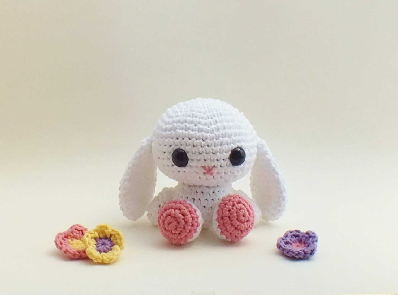How To Crochet An Amigurumi Rabbit : Amigurumi Bunny / Kids Toys / Crochet Bunny by ...