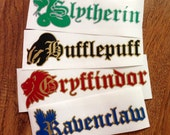 Harry Potter Pick-Your-Hogwarts House Decal