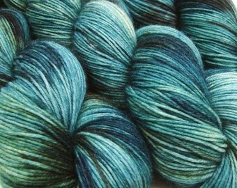 DESTINATIONS sock yarn St PETERSBURG hand dyed sw merino wool nylon fingering weight
