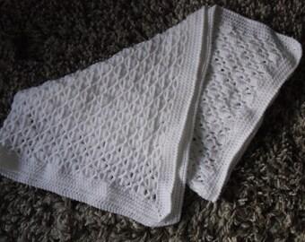 Baby crochet blanket pattern - PDF pattern