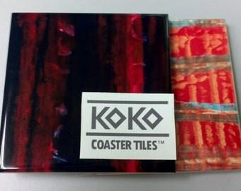 Koko Coaster Tiles 2-Combo - Golden Song