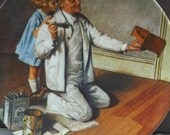 "Vintage Norman Rockwell ""The Painter"""