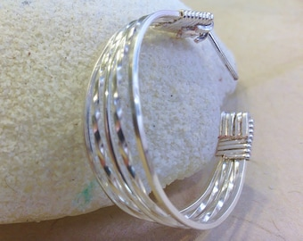 pdf - Wire Wrapped Hoop Earring (Instructions)