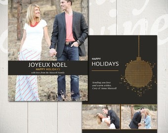 Christmas Card Templates Deck The Halls By