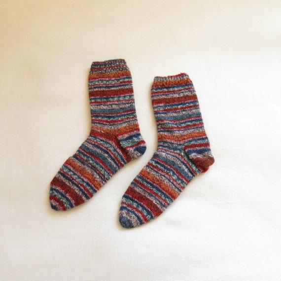 Women's socks knitted (Size US 8.5-9.5, UK 6-7, Europe 39-41)
