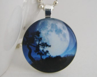 Desert Moon Pendant with Free Necklace