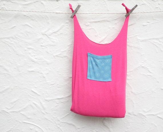 Reusable bag fold up compact shopping t shirt bag by for Reusable t shirt bags