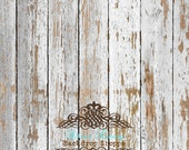 SALE 4'x4' Photography Backdrop Photo Prop Light Washed Barn Wood matte Vinyl