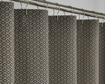 Popular items for brown shower curtain on Etsy