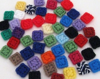 Assorted 50 Squares for your Craft Projects