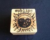 Sublime Keepsake Box, Pop Art Branded in Solid Oak
