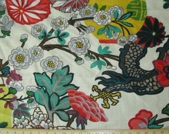 Designer Pillow, Decorative Pillow, Throw Pillow, Toss Pillow, Schumacher, Chiang Mai Dragon, 16x26 inch, Alabaster, Home Furnishing