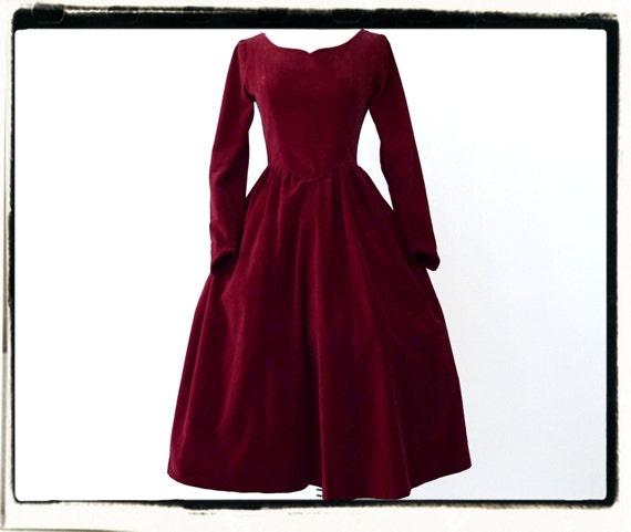 1950's Red Velvet BIANCHI