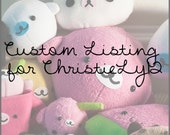 Custom Listing for ChristieLy12