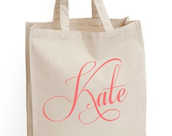 "Wedding Tote Bags ""The Capricco"" Tote Bag, Gift bags, Bridesmaid bags, by Modern Vintage Market"