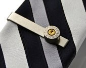 Bullet Tie Clip - Tie Bar - Tie Clasp - Business Gift - Handmade - Gift Box Included