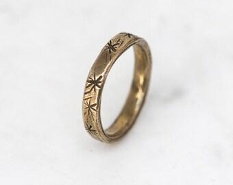 Posey ring - brass
