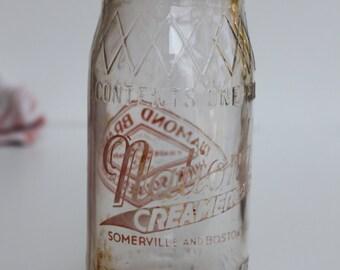 Vintage Cream Bottle