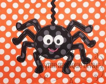 Halloween Daddy Long Legs Spider Digital Embroidery Design Machine Applique