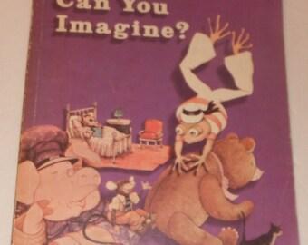 Can You Imagine Holt Basic Reading Level 6 Vintage School Book