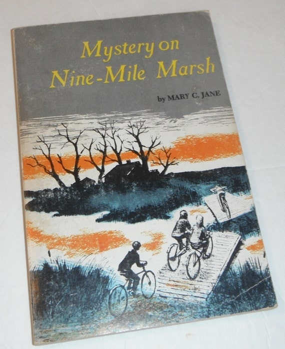Mystery on Nine Mile Marsh by Mary C. Jane Vintage Scholastic Book - Starrylitvintage