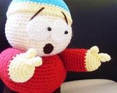 PATTERN : Cartman Crochet Doll