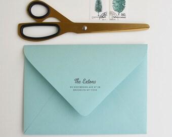 Gelato Custom Return Address Stamp