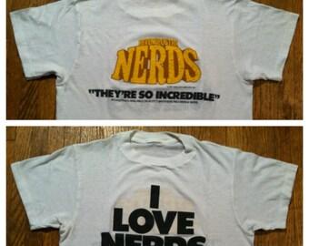 Vintage 1984 Revenge of the Nerds t-shirt, soundtrack, small