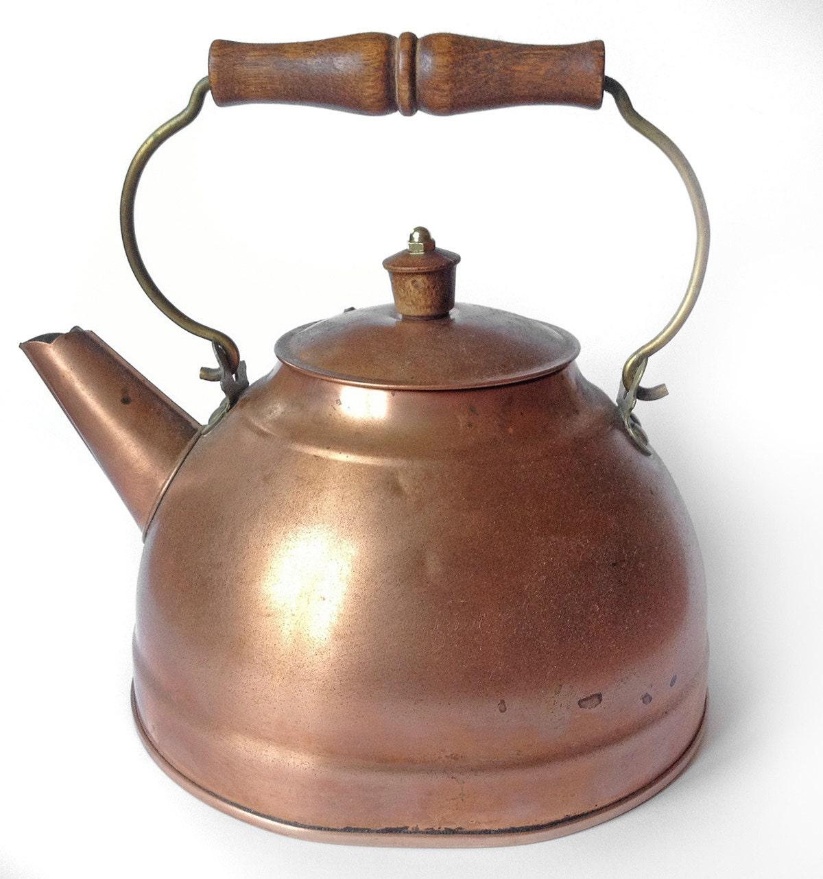 Vintage Revere Ware Copper Kettle Teapot