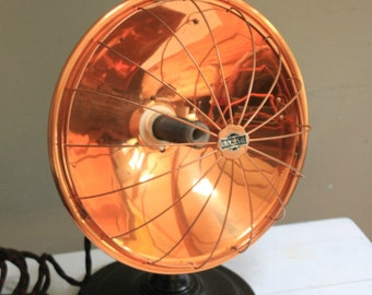 Vintage Industrial Universal Heater/Lamp