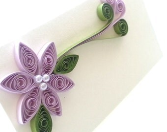 Wedding - ESCORT CARDS - Place Cards - Paper Quilled - Assorted Color - 100 cards -  Made To Order