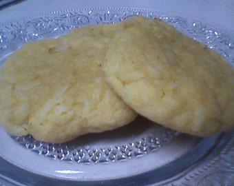 Coconut Butter Cookies (12 cookies)