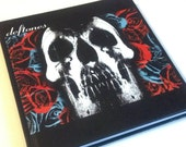 Deftones Journal - Bound Notebook - Blank Page Book - Story Book