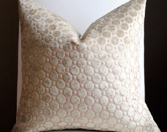 Beautiful Velvet Home Decor Pillow Cover-20x20-Truffle-Accent Pillow-Throw Pillow-Decorative Pillow