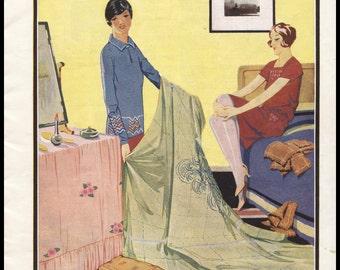 Vintage 1927 The Needlewoman British Magazine