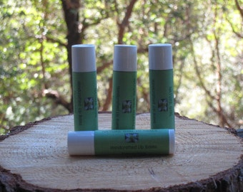 Peppermint Cocoa Butter Lip Balm Tube