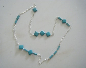 Silver with Turquoise Necklace