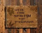 Thanksgiving - Thanksgiving decor - Thankful decor - Autumn decor - Autumn art - Autumn canvas - Thanksgiving canvas