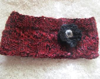 wool knit headband/earwarmer