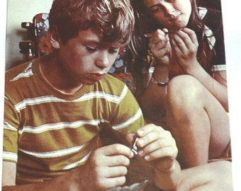 Nail Care A Good Idea! -- Vintage 1972 Instructional Aid