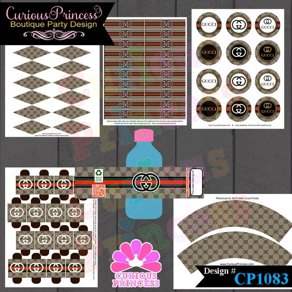 Gucci Couture Printable Supplies For Birthday Party Printables