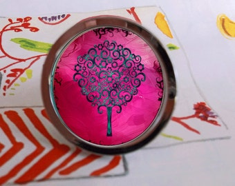Swirl Trees Abstract Colorful Drawer Pull Cabinet Knob Handle Housewares Gift