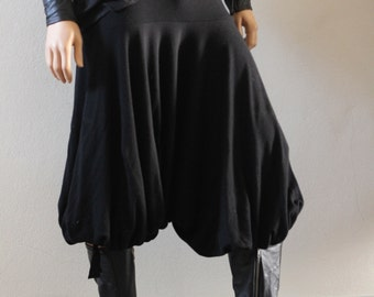 dTrousers Pants Shorts Harem Cossack Yoga Drop Crotch Hammer Samurai Unisex - Chrisst 4 Life