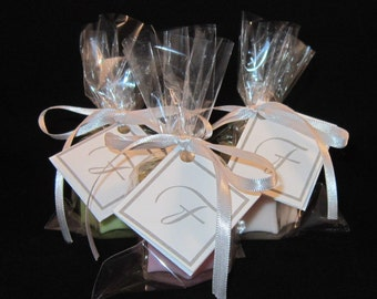 PARTY FAVOR CANDLES - shower favors, wedding favors, candle favors