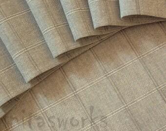 "Linen Napkin Natural Gray Green set of 4 - Flax - 16.9""x13"" size"