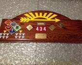 Arrow of Light Award Oak Plaque #3 w/o Arrow