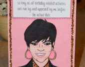"Kris Jenner Birthday Card- ""Mother Knows Best"""