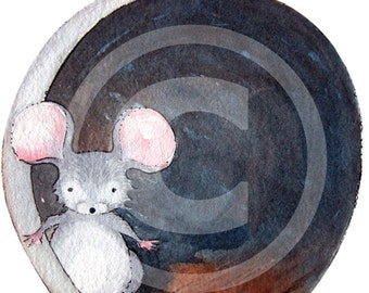 Wall Decal OR Bumper Sticker - The Original Mouse