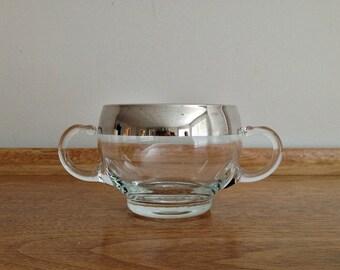 Silver Band Open Sugar Bowl Dorothy Thorpe Style