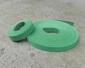 5 Yds(450 cm or 15Ft) Sea Green(Green Emerald) -5 of 900X10mm Faux Suede Lace Straps-(FS10-60)